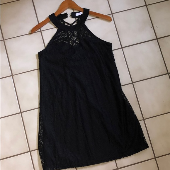 Candie's Dresses & Skirts - Lace black dress